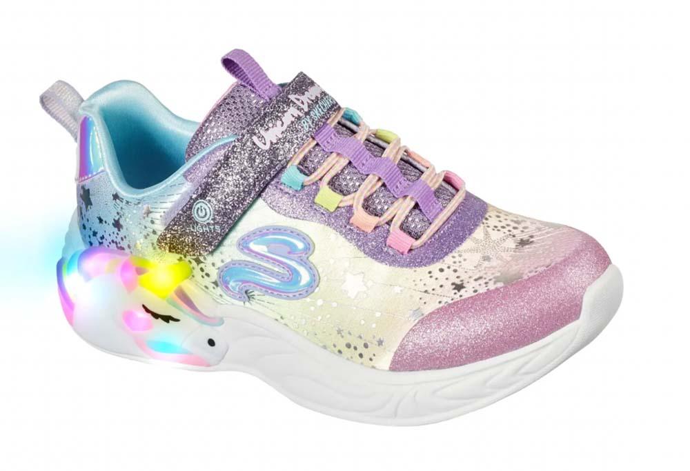 S-Lights Unicorn Dreams Glitter Sneaker