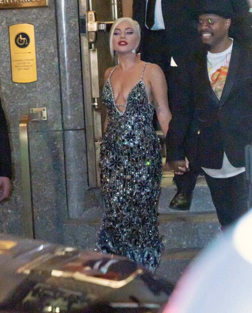Lady Gaga departs Radio City Music Hall on the final night of her concert series with Tony Bennett in New YorkPictured: Lady GagaRef: SPL5243948 060821 NON-EXCLUSIVEPicture by: Jackson Lee / SplashNews.comSplash News and PicturesUSA: +1 310-525-5808London: +44 (0)20 8126 1009Berlin: +49 175 3764 166photodesk@splashnews.comWorld Rights, No Portugal Rights