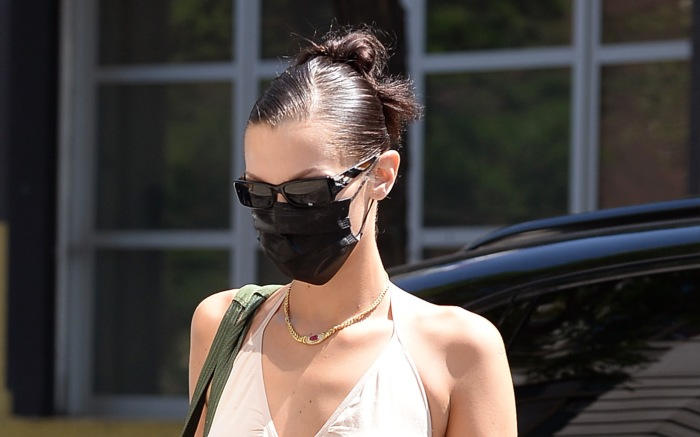 Bella Hadid Spotted Going To The Gym In New York City