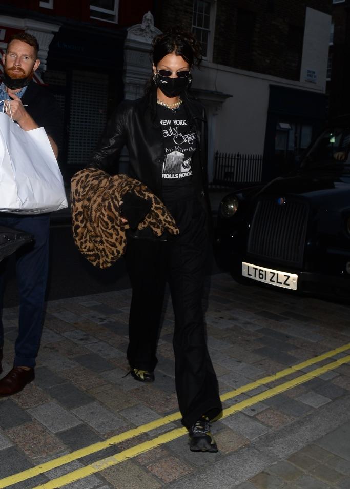 Bella Hadid, asics, london