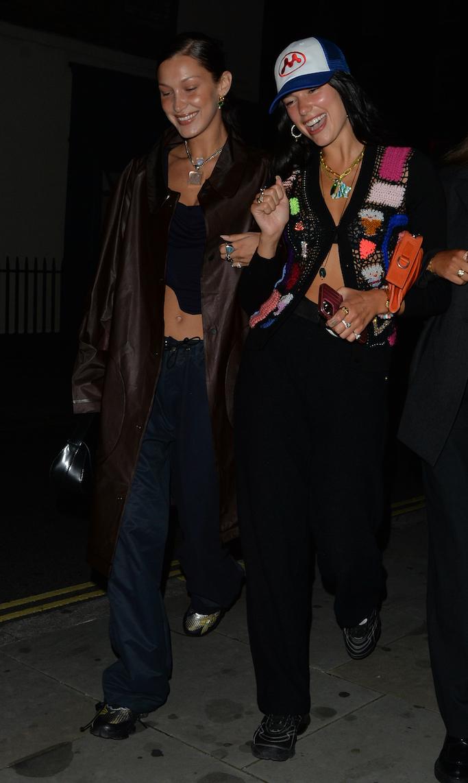 Bella Hadid and Dua Lipa