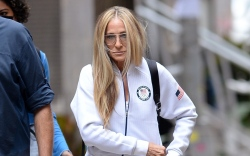 Sarah Jessica Parker, Olympic jacket, mary