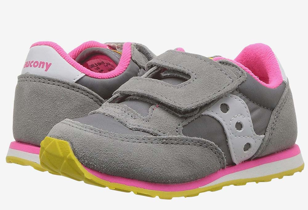 Saucony Kids Originals Jazz Hook & Loop Sneakers