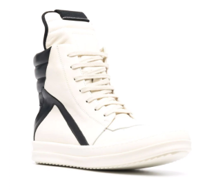 Geobasket colour-block leather sneakers
