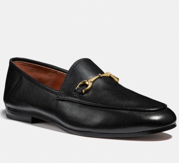 Coach Outlet black loafers