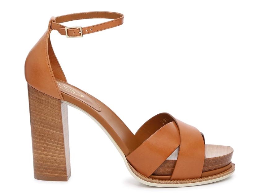 Tods gomma, platform sandals