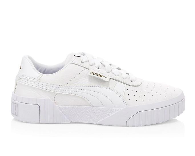 Puma Cali leather platform sneakers