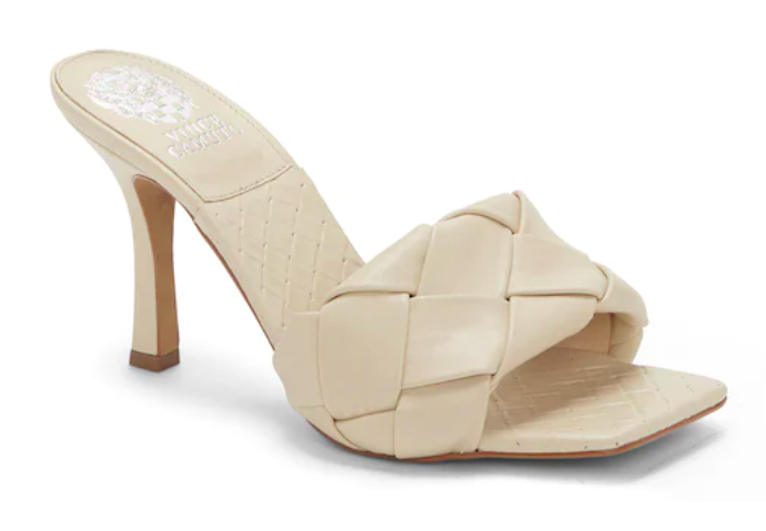 Vince Camuto, woven mules