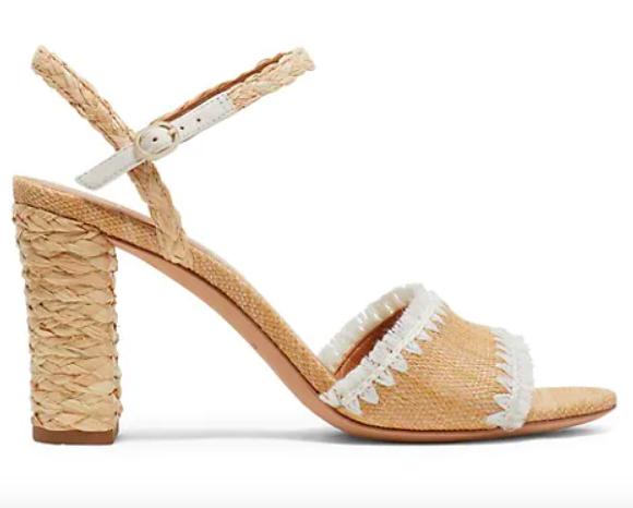 Kate Spade New York, raffia sandals