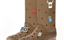 Crocs, Busch Beer, cowboy boots
