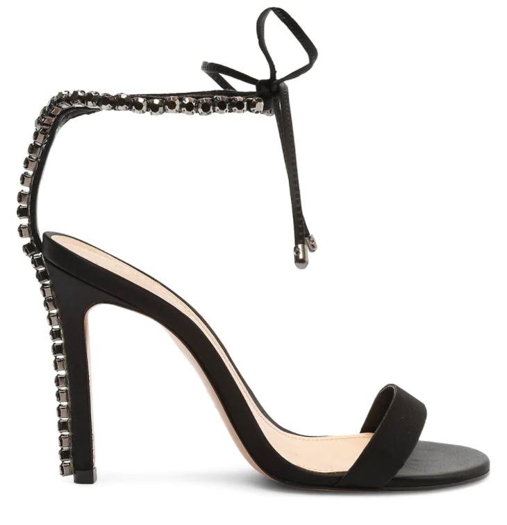 Schutz, black sandals