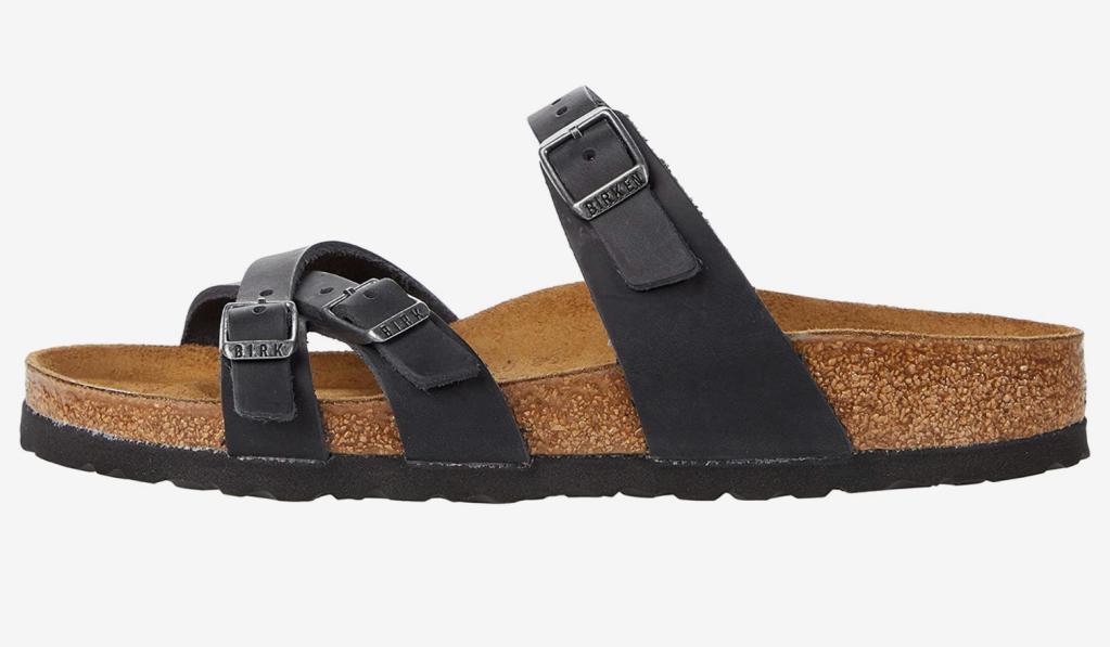 tan sandals, birkenstock