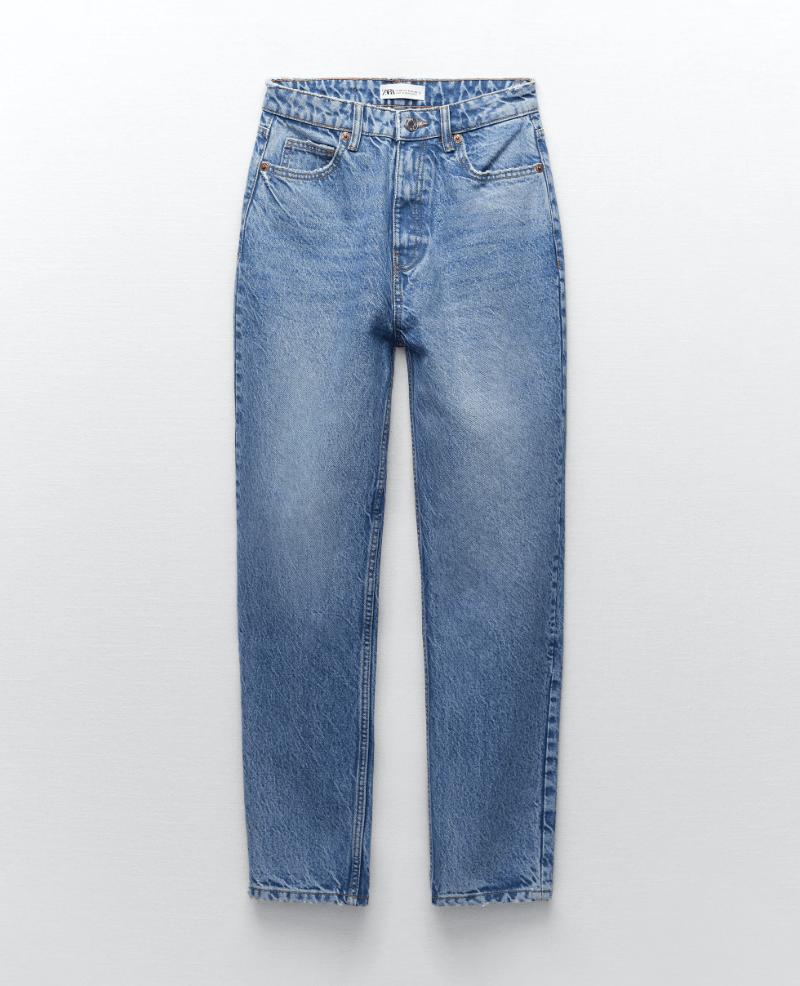 zara, mom jeans