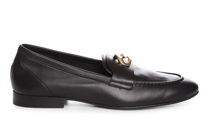 Givenchy G-Chain Leather Loafers