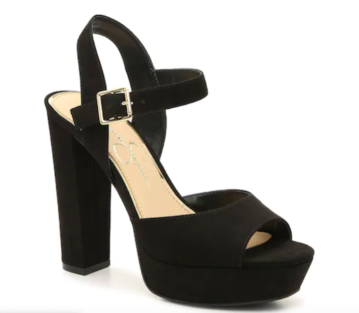 Jessica Simpson, platform sandals