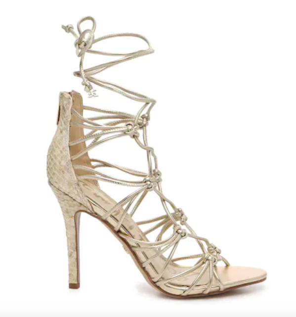 Sam Edelman, ankle wrap sandals