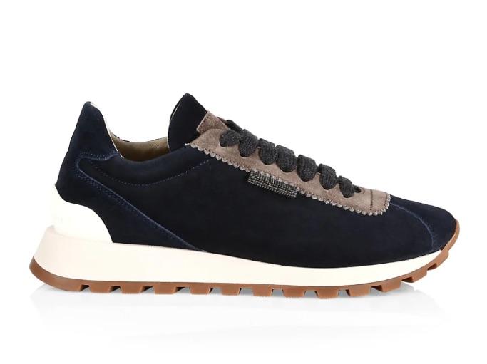 Monili-Trim low-top sneakers Brunello Cucinelli