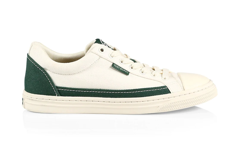 Tory Burch Canvas Court Sneakers