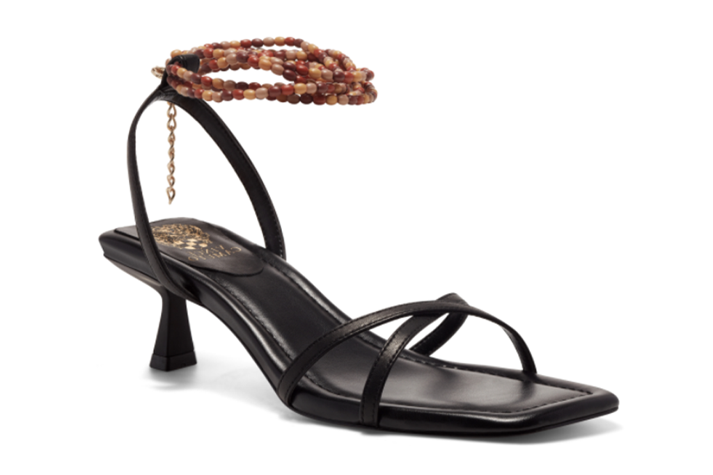 Vince Camuto Analise Beaded-Anklet Sandal