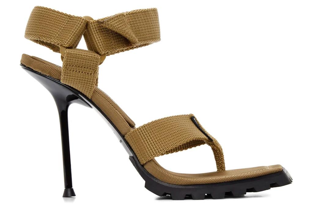 alexander wang, thong heels, sandala