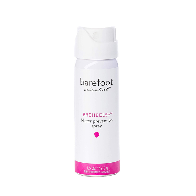 Barefoot Scientist PreHeels+ Blister Prevention Spray, how to make heels more comfortable