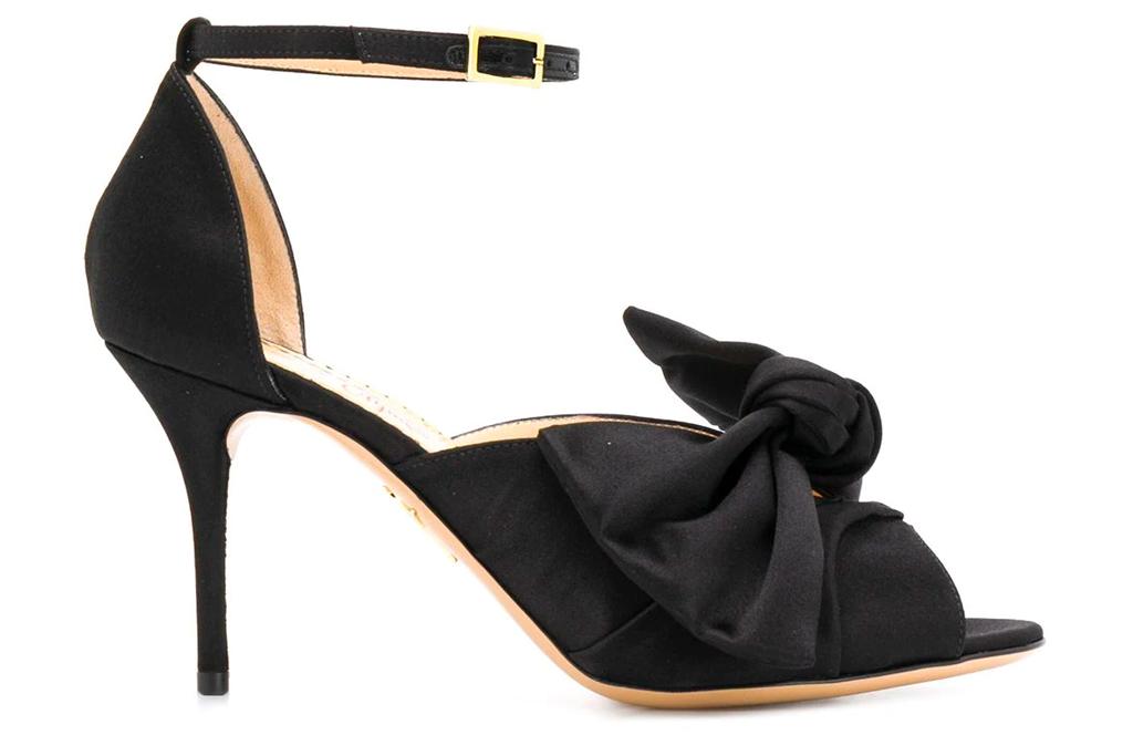 heels, pumps, bow, charlotte olmpia