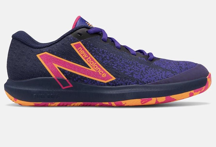 new balance FuelCell 996v4.5 shoe, purple, hot pink, orange