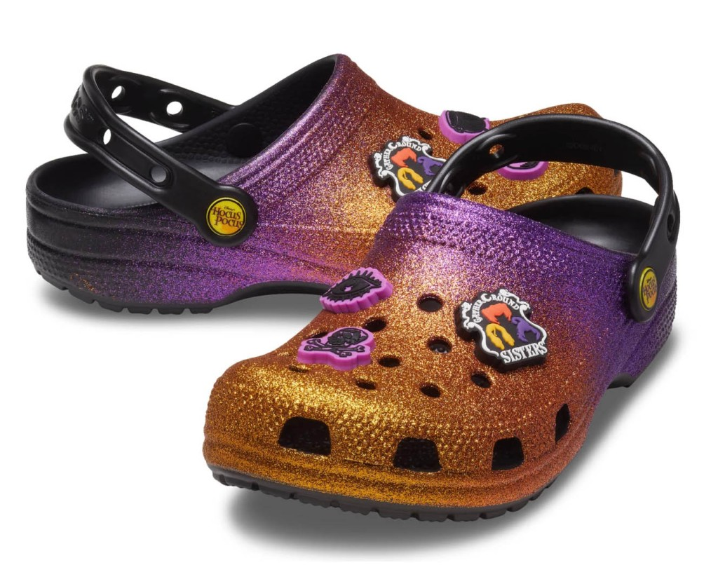 Hocus Pocus Clogs for Adults by Crocs, disney, halloween