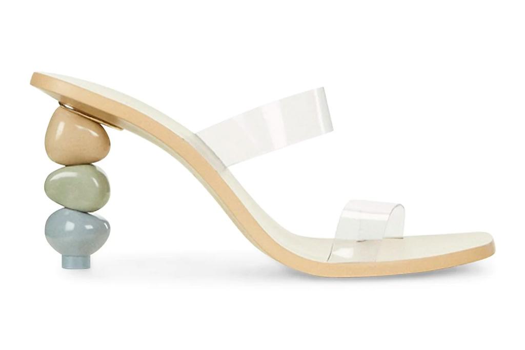 pvc heels, clear mules, cultl gaia