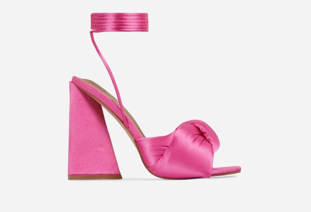 EGO Pink Block Heels