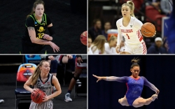 female college athletes, NIL