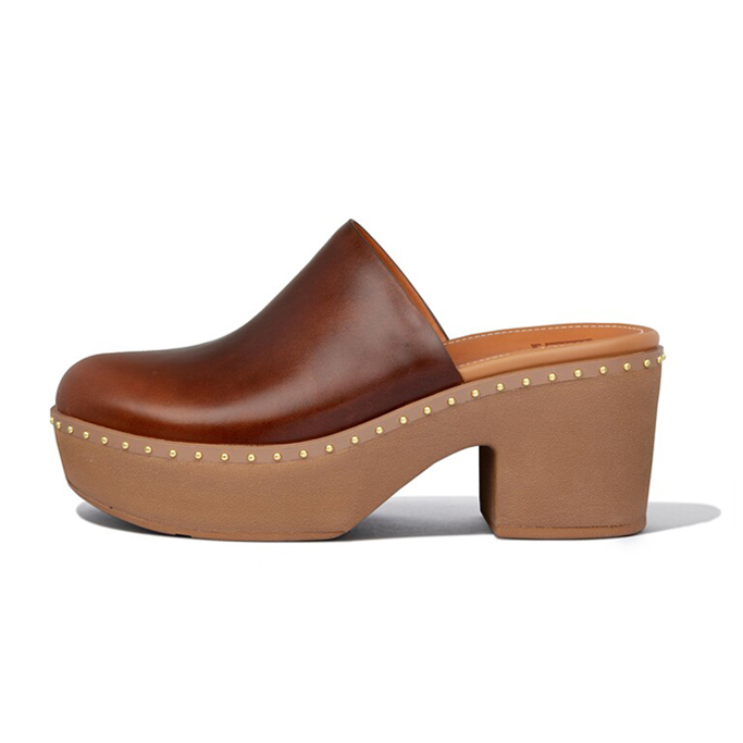 FitFlop Leather Mule Platforms, fall shoes 2021