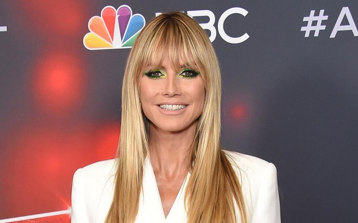 """Sofia Vergara walking the the Red Carpet for """"America's Got Talent"""" Aug. 24 Live Show Red Carpet at Dolby Theatre. 24 Aug 2021 Pictured: Heidi Klum. Photo credit: OConnor/AFF-USA.com / MEGA TheMegaAgency.com +1 888 505 6342 (Mega Agency TagID: MEGA781033_002.jpg) [Photo via Mega Agency]"""