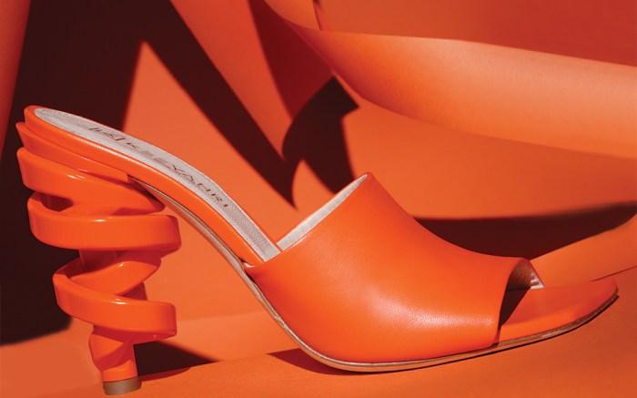 shoe to know, footwear news, fn shoes, keeyahri shoes, keeyahri sarah mule, keya martin keeyahri, shoe designer, shoes, high heels, heels, sculptural heels