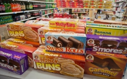 A selection of Little Debbie brand