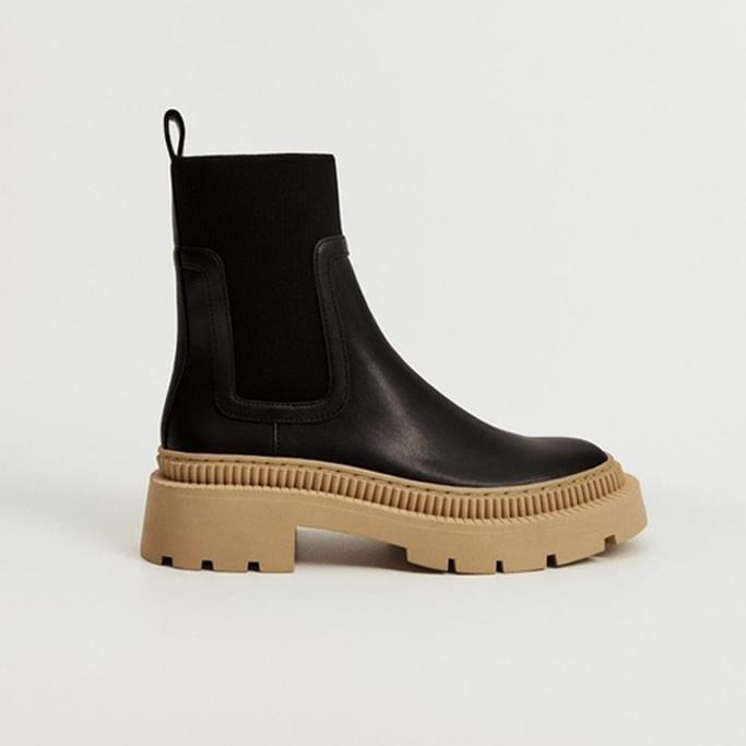 Mango Track Outsole Boots, fall shoes 2021