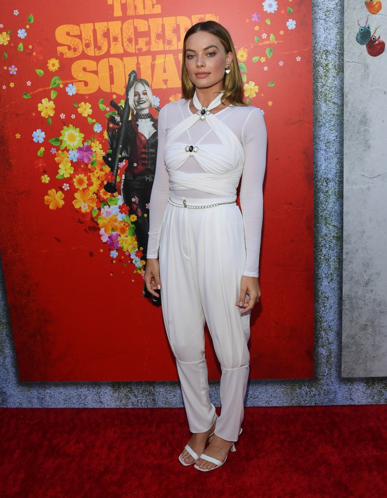 Margot Robbie, Chanel, By Far, Suicide Squad, Los Angeles, premiere