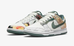 nike dunk low camo pack, sneakers