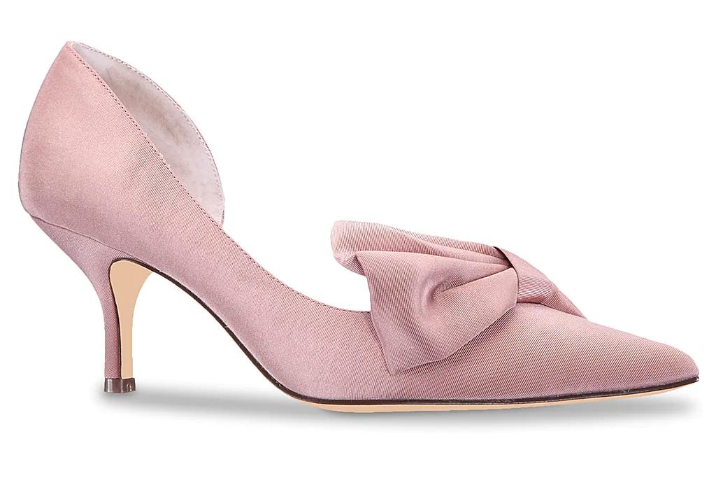 heels, pumps, bow, nina