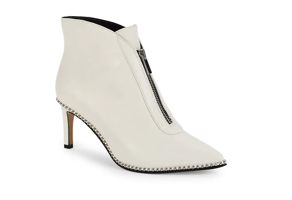 BCBGeneration Mipper Studded Leather Booties