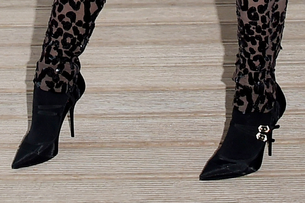normani, catsuit, skirt, hair scarf, boots, booties, italy, cheetah, venice, dolce & Gabbana