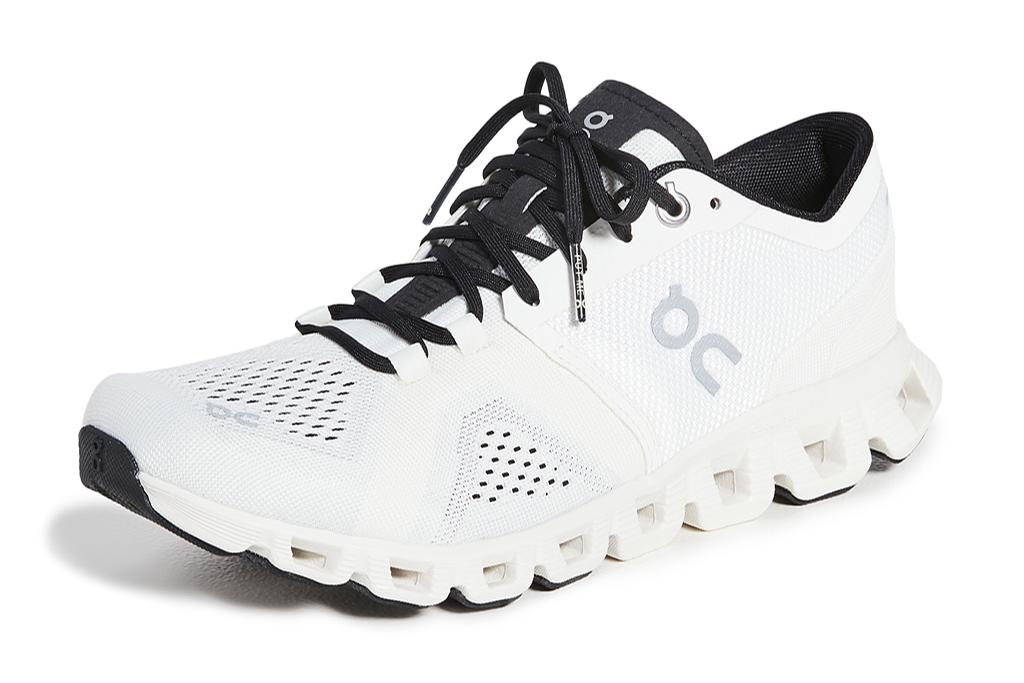 on cloud, sneakers