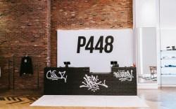 P448, sneakers, new york, store