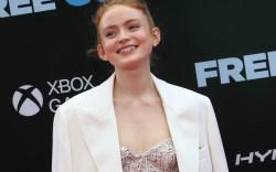 Sadie Sink attends the premiere of