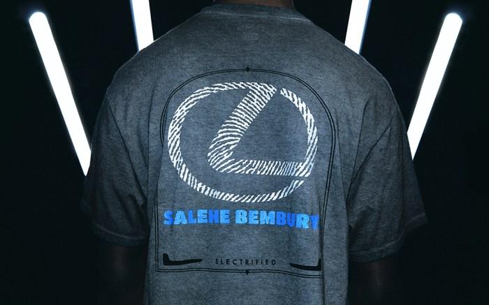 Salehe Bembury Lexus Champion T-shirt