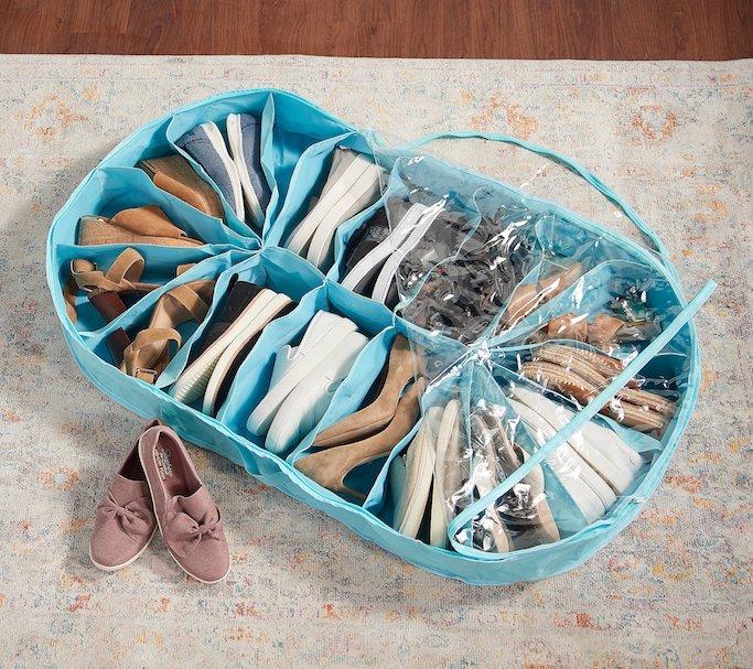 Shoe-Go-Round 18 Pocket Storage Organizer, best underbed shoe organizers
