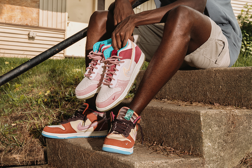 Online Shop Trend Now social-status-nike-dunk-free-lunch Social Status Reveals 'Free Lunch' Film Ahead of the Nike Dunk Release – Footwear News