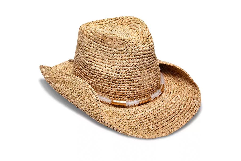 straw hat, cowboy