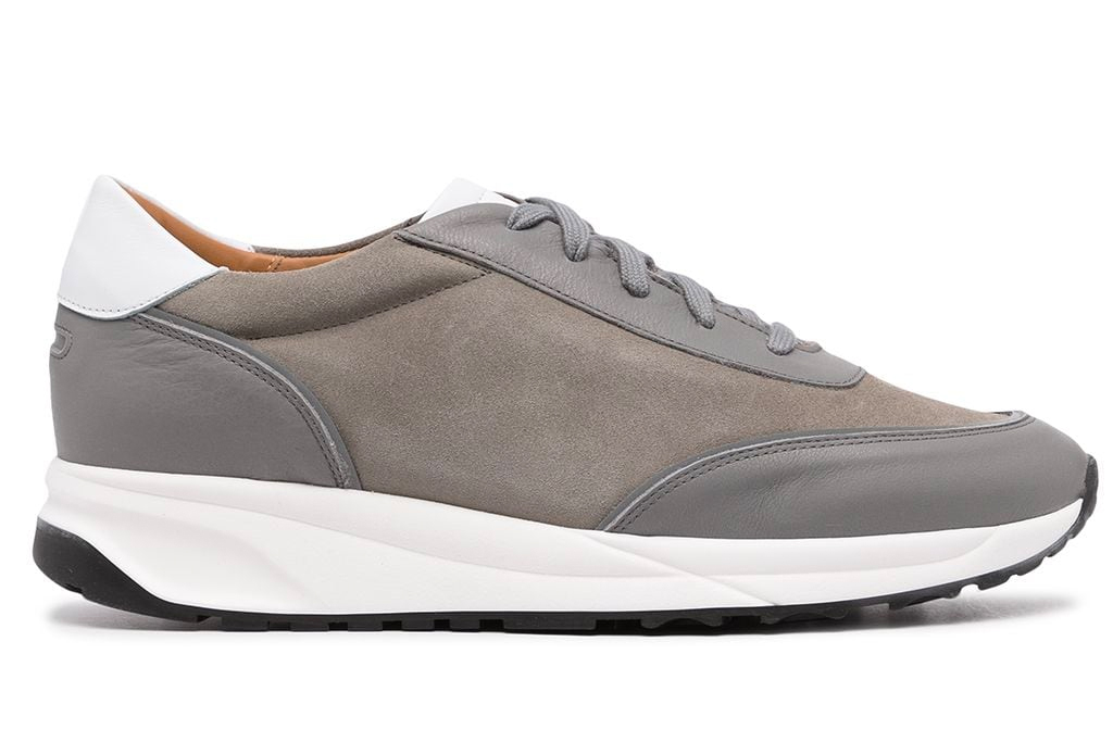 sneakers, gray, white, mens, unseen