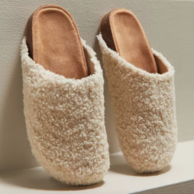 Urban Outfitters Heidi Shearling Clog, fall shoes 2021